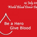 DONATE BLOOD BE A HERO