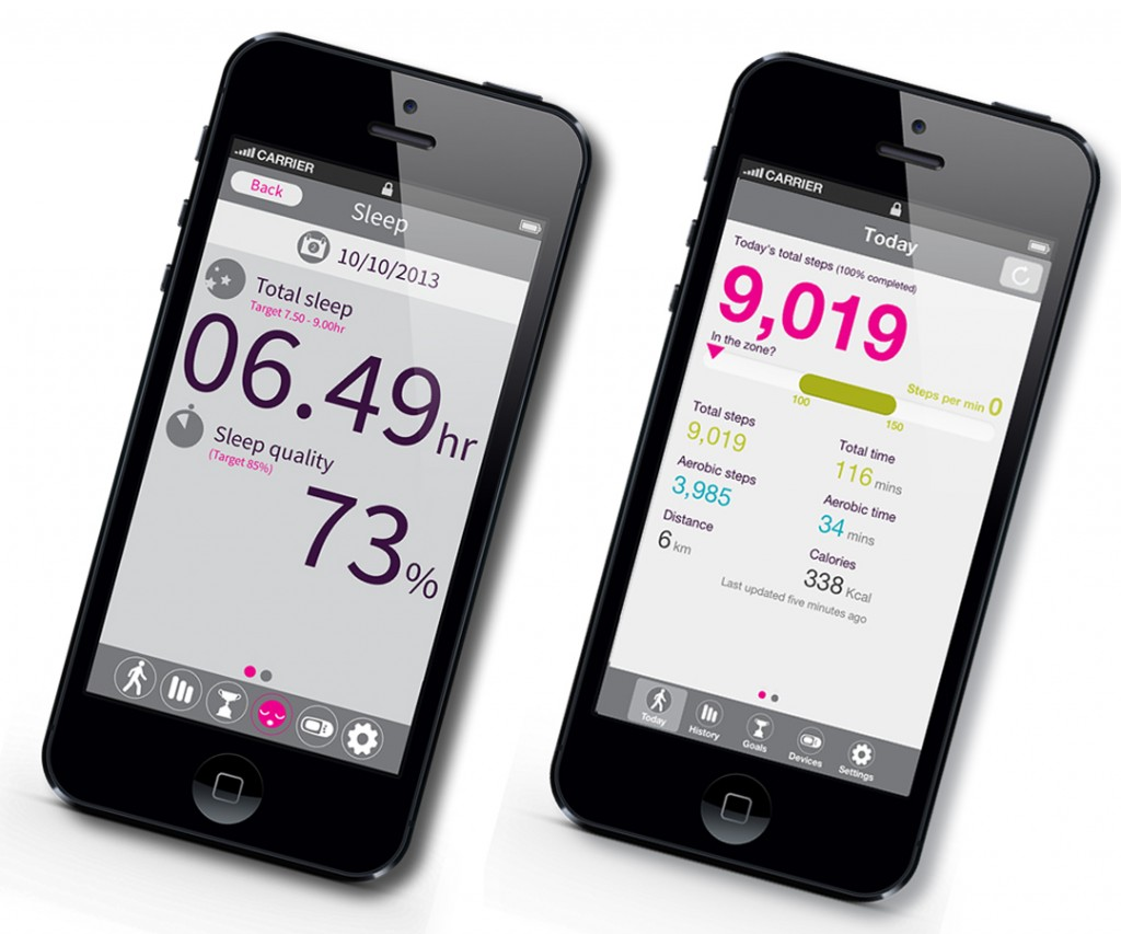 The Ultimate Fitness and Sleep Tracker for Iphone